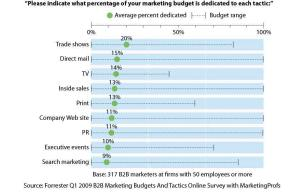 Conventional Tactics Get The Lion's Share of Budgets